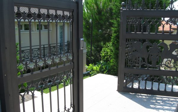 Проект & 3D Дизайн на луксозна ограда