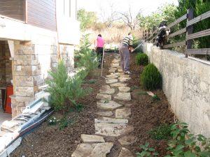 Изграждане на двор